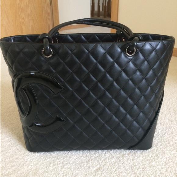 615ac022ca18 CHANEL Handbags - Authentic Chanel Cambon tote